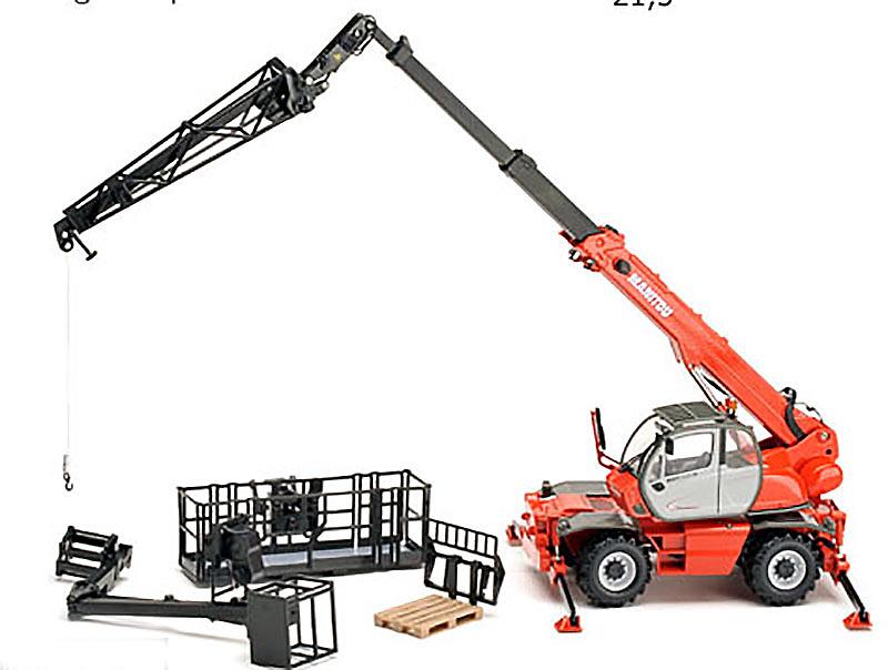 Manitou MRT 2150 Privilege Ros Agritec 80110 escala 1/32