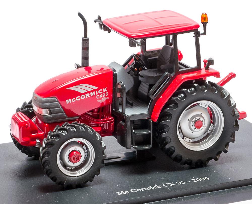 Mc Cormick CX 95 - 2004 - coleccion HACHETTE / Universal Hobbies escala 1/43