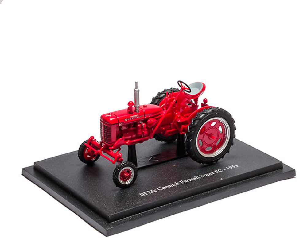 Mc Cormick Farmall Super FC - 1955 - coleccion HACHETTE / Universal Hobbies escala 1/43