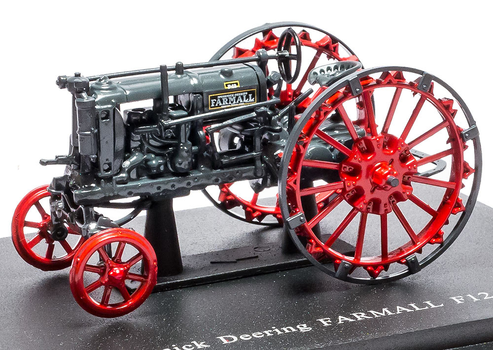Mc cormick Deering Farmall F12 - 1935 - coleccion HACHETTE / Universal Hobbies escala 1/43