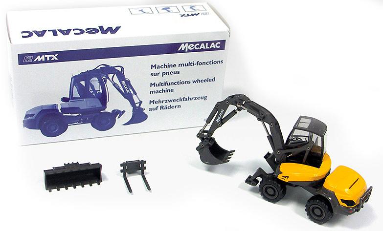 Mecalac 12MTX Conrad Modelle 2949 escala 1/50