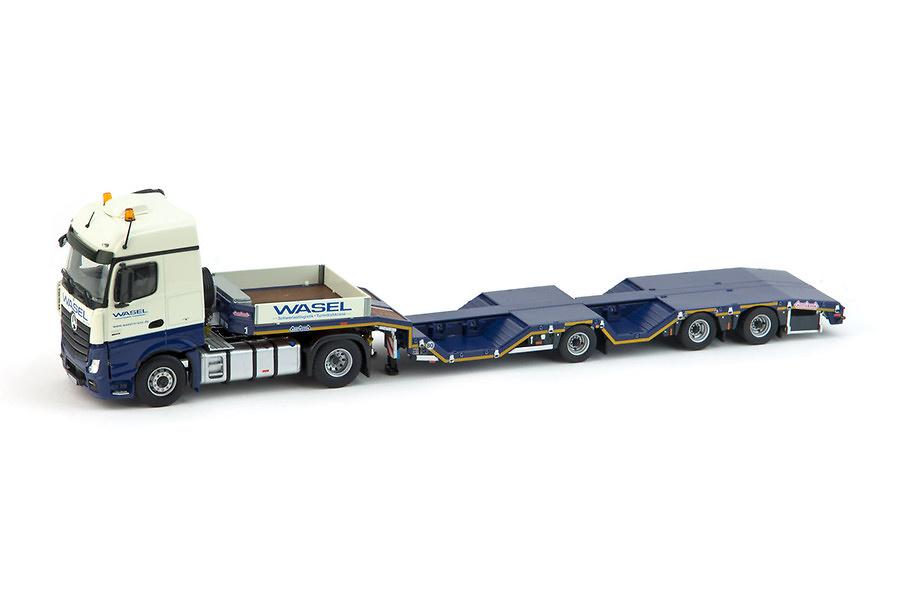 Mercedes + Nooteboom cama baja Wasel Imc Models 1/50