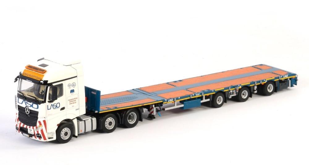 Mercedes Actros Mp4 Stream Space + Megatrailer Wsi Models 2961
