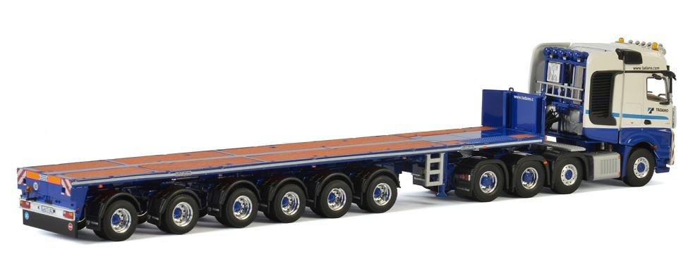 Mercedes Arocs + Balast trailer Tadano - Wsi Models 04-2052