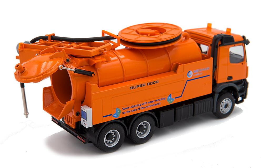 Mercedes Arocs + Wiedemann enviro tec Conrad Modelle 78154/02 escala 1/50