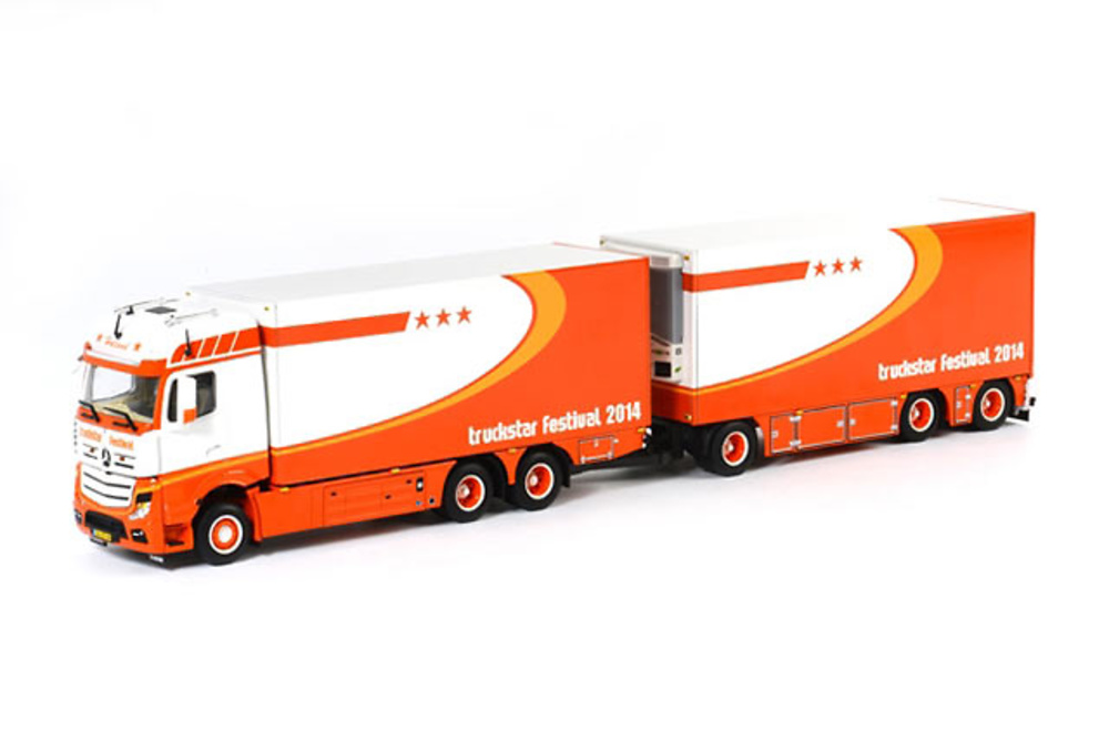 Mercedes-Benz Actros Big Space Combi Truckstar Model 2014 Wsi 01-1432 escala 1/50