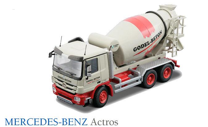 Mercedes Benz Actros Hormigonera 3 ejes Godel Beton Conrad Modelle 72157
