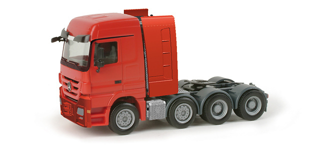 Mercedes Benz Actros LH transporte especial 1/87 Herpa