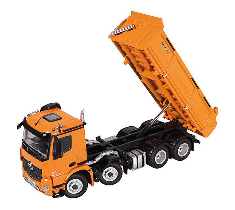 mercedes benz arocs 4achs kipper orange nzg modelle 904 65. Black Bedroom Furniture Sets. Home Design Ideas
