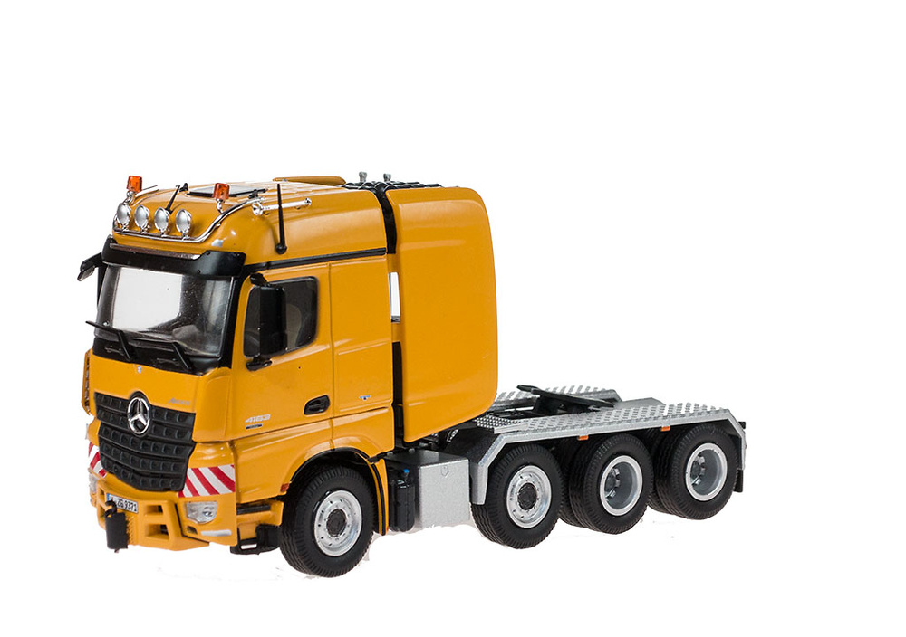 Mercedes Benz Arocs Big space SLT amarillo, Nzg escala 1/50