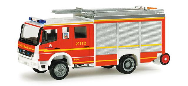 Mercedes-Benz Atego HLF 20/16 Bomberos, Herpa 1/87 049139