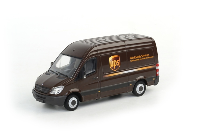Mercedes Benz Sprinter UPS, Wsi Models 1/50 04-1086