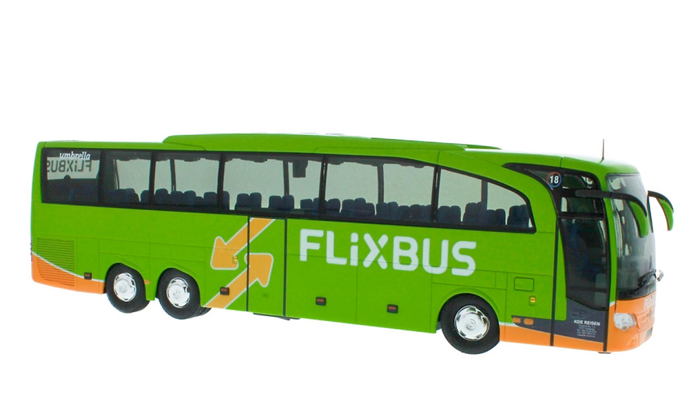 Mercedes Benz Travego M Flixbus Rietze 14127 escala 1/43