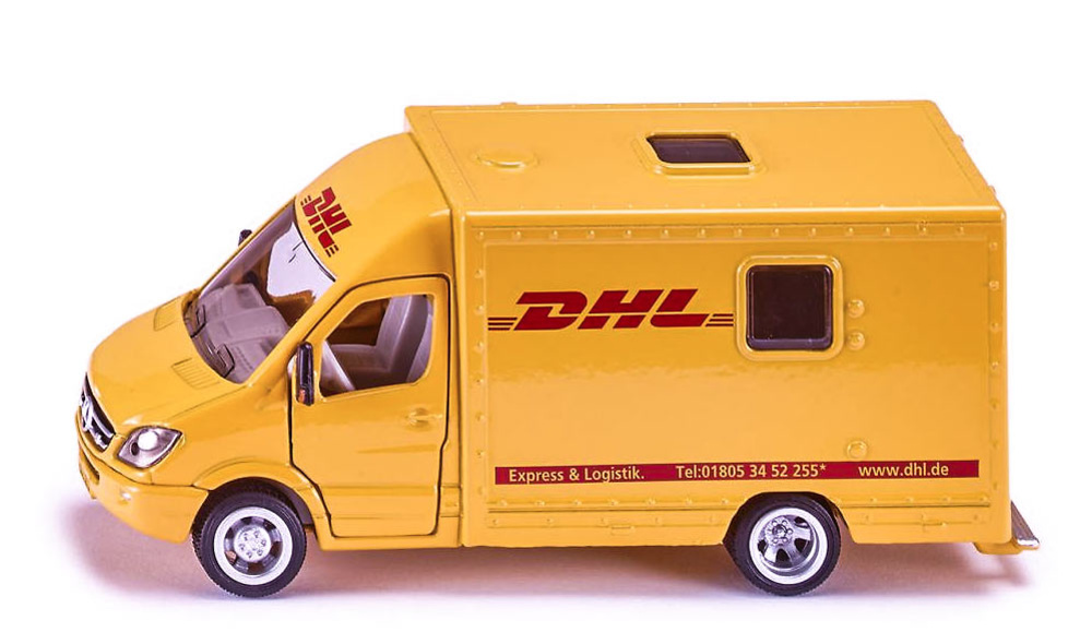 Mercedes Sprinter DHL Siku 1936 escala 1/50
