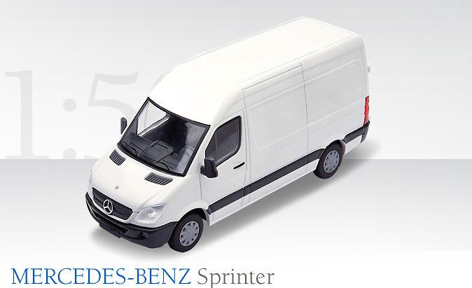 Mercedes Sprinter Sprinter blanco Conrad Modelle 1610/04 escala 1/50