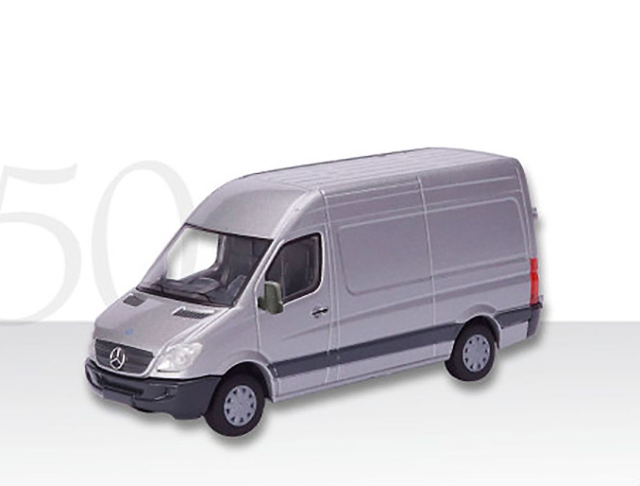 Mercedes Sprinter Sprinter plateado Conrad Modelle 1610/05 escala 1/50