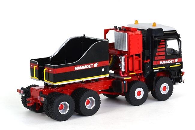 Mercedes Titan Ballast Box Mammoet, Wsi Models 410086 escala 1/50