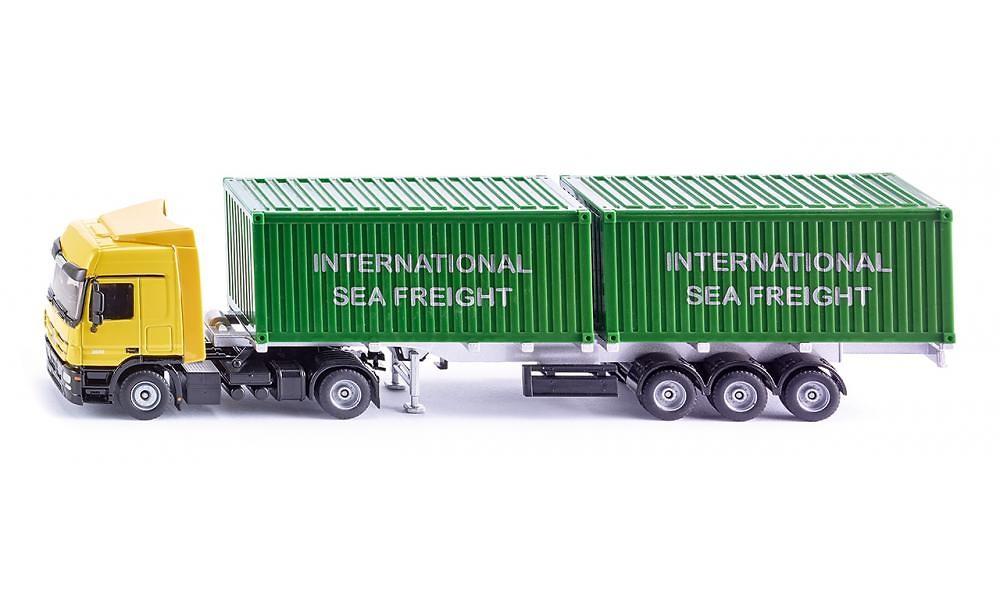 Mercedes LKW mit Container Siku 3921 Masstab 1/50