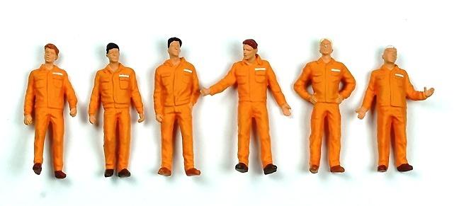 Monteure Preiser orange 68212