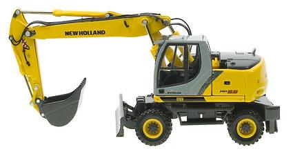 New Holland MH 5.6 Excavadora Ruedas, Ros Agritec 1/50 00191