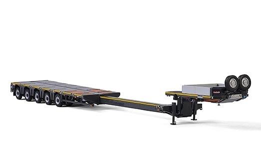 Nooteboom MCO PX - 5 ejes Wsi Models escala 1/50