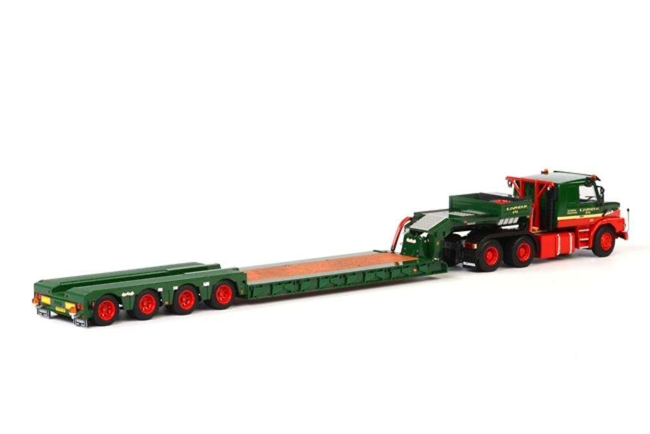 Nooteboom OSDS-58-04V + Scania T113/T143 Torpedo 6x4 Wsi Models Masstab 1/50