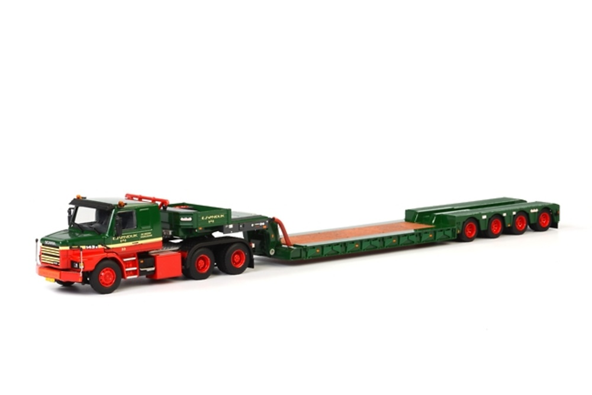 Nooteboom OSDS-58-04V + Scania T113/T143 Wsi Models escala 1/50