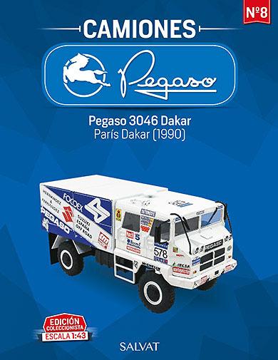 1//43 CAMION TRUCK PEGASO 3046 PARIS DAKAR 1990 SALVAT