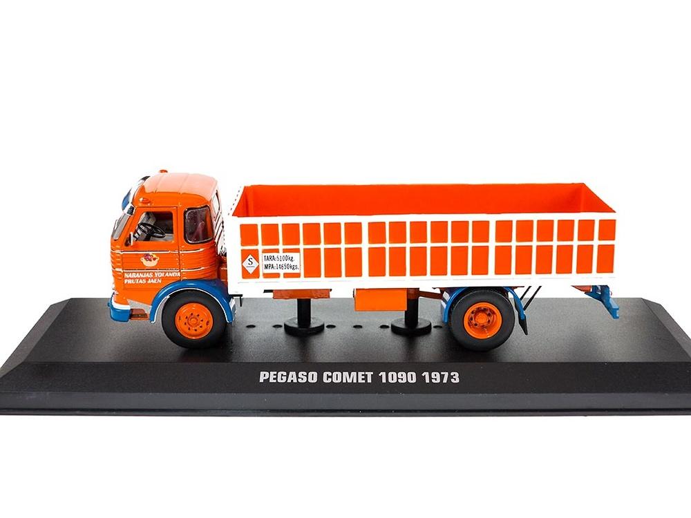 Pegaso Comet 1090 - Frutas Jaen 1973 - Ixo Models 1/43