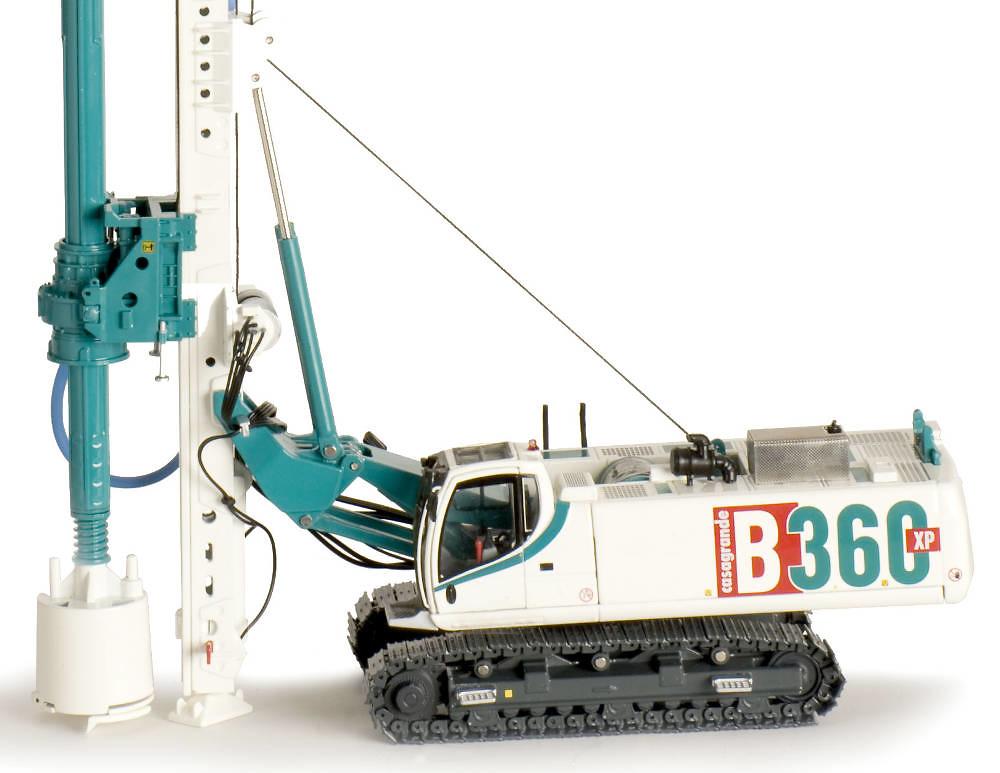 Perforadora B360 XP Ros Agritec 002111 escala 1/50