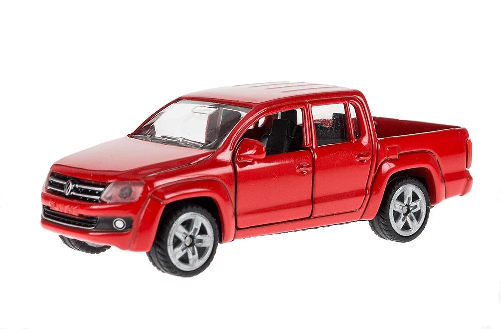 Pickup Amarok VW mit remolque + accesorios Siku 3543 escala 1/55