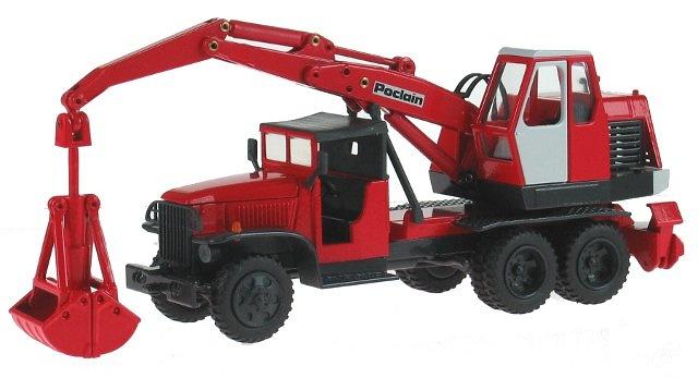 Poclain Excavadora TP 30 - GMC Camion, Conrad 1/50 2928