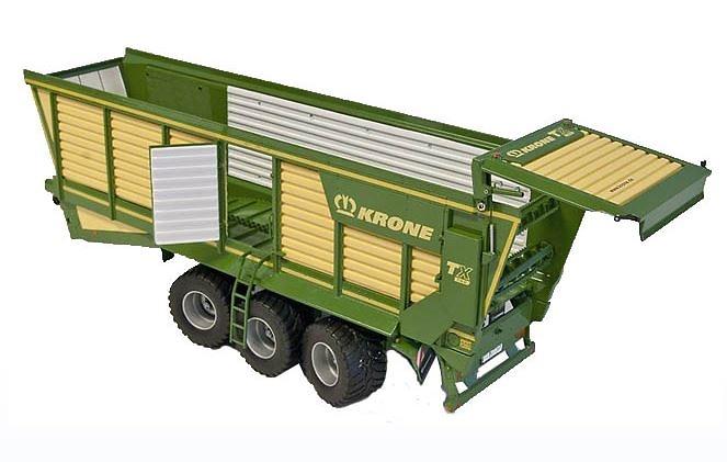 Remolque de ensilaje Krone TX 560 Ros Agritec escala 1/32