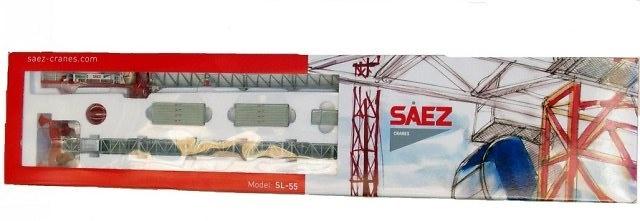 SAEZ 55 TL Grua Torre Ros agritec 1/87 80100