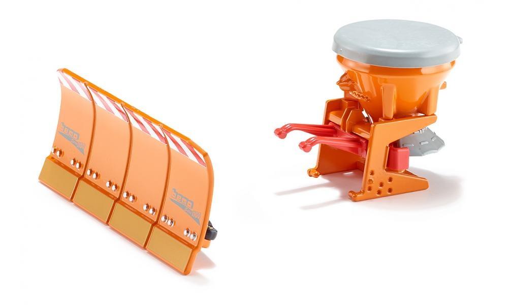 Salero con pala para tractores Siku 2058 escala 1/32