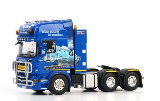 Sarens Luc Annaert Scania R6 Topline 6x4 Wsi Model 10-2016 escala 1/50