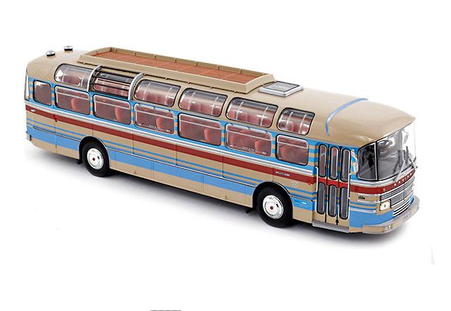 Saviem S53M autobus, Norev 530013 escala 1/43
