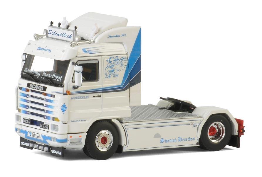 Scania 143m Schindlbeck Wsi Models 2342 escala 1/50