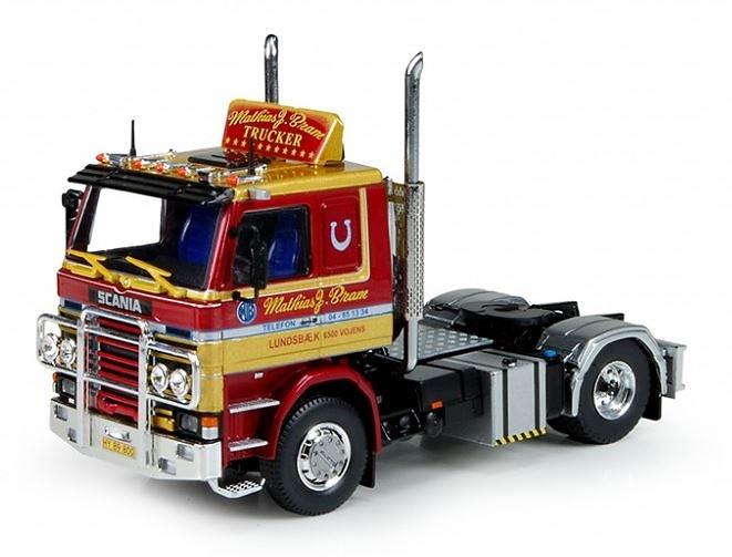 Scania 2-serie Matthias J. Bram Tekno 71236 escala 1/50