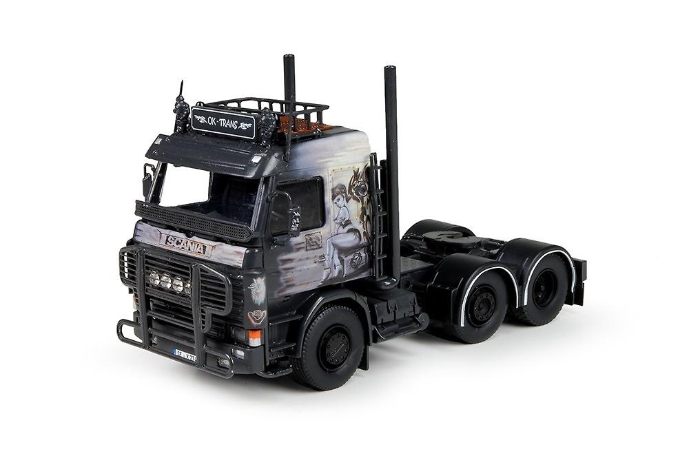 Scania 3-serie ok Trans Tekno escala 1/50