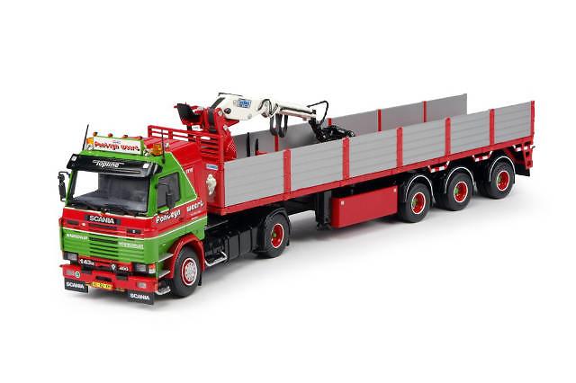 Scania 3-serie transporte piedras Fonteijn Tekno 64990 escala 1/50