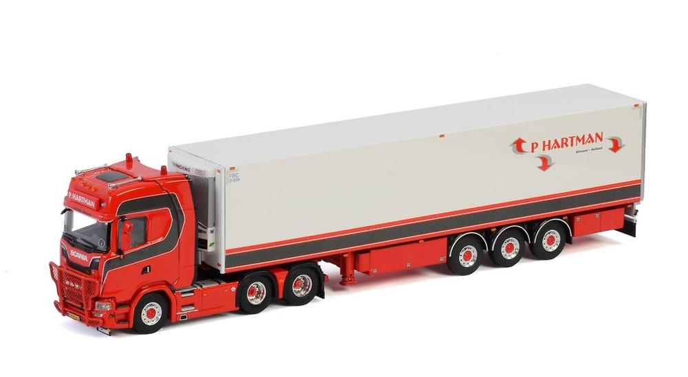 Scania Highline Hartman Transport Wsi Models 2942