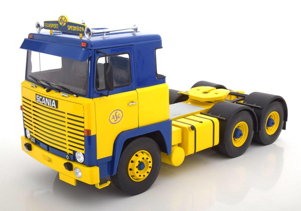 Scania LBT 141 ASG 1976 Road Kings escala 1/18