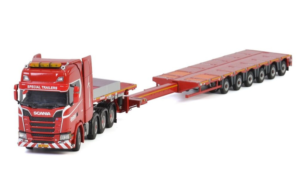 Scania New 8x4 + Nooteboom Mco_px Imc Models 569.99.43