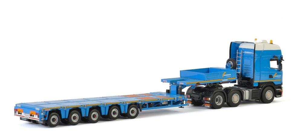 Scania R + Nooteboom Multi-PX 5 As - Felbermayr - Wsi Models 2402