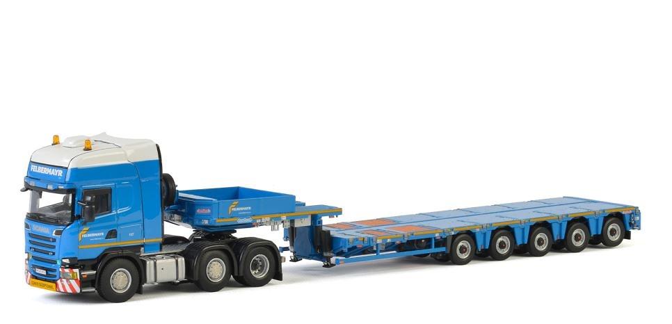 Scania R + Nooteboom Multi-PX 5 As - Felbermayr - Wsi Models