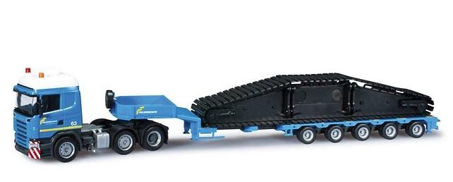 Scania R 04 3-achs+ carga LR 1600/2