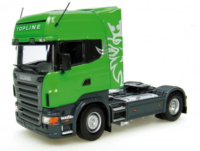 Scania R 580 TopLine 4x2 - verde 1/50 Universal Hobbies