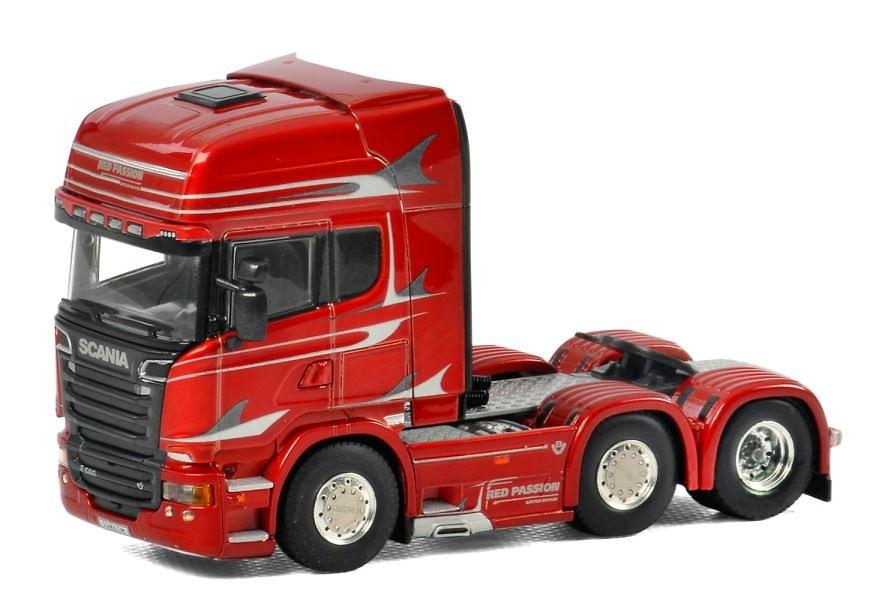Scania R Streamline Topline - Red Passion - Wsi Models 04-1177