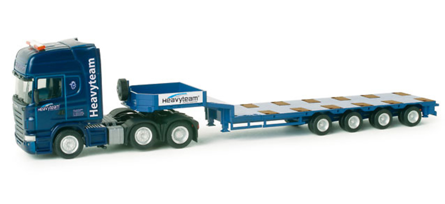 Scania R TL Semi plataforma baja